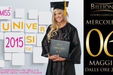 Miss Università 2015