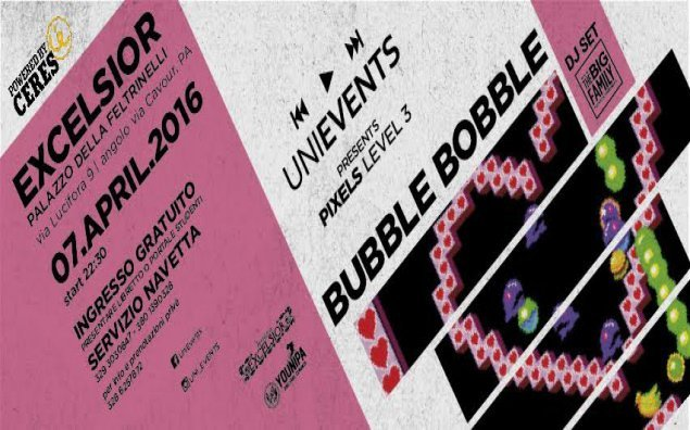 UniEvents - BubbleBobble