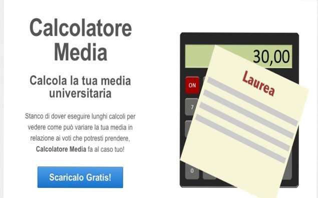 Calcolatore Media Universitaria