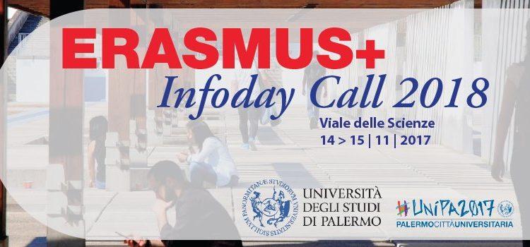 """Erasmus+ Infoday Call 2018"" a Unipa"