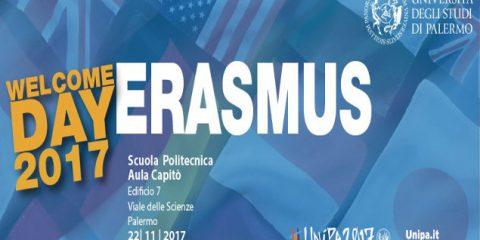 """Erasmus Welcome Day"" 2017 per gli studenti Erasmus"