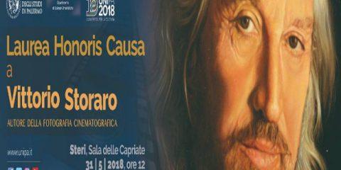Laurea honoris causa a Vittorio Storaro