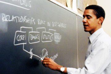 Obama all'università