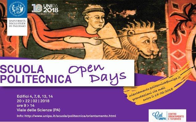 """""""Open Days"""" alla Scuola Politecnica"""
