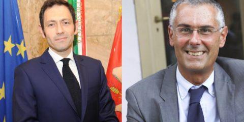 Ruggero Razza e Fabrizio Micari