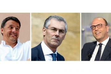 Renzi, Micari, Alfano