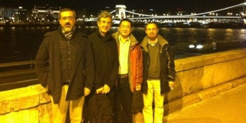 Salvatore Miccichè, Rosario Mantegna, Wei-Xing Zhou e Michele Tumminello