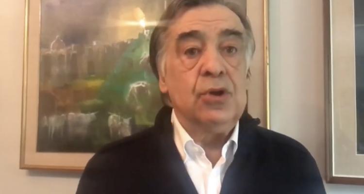 Leoluca Orlando sindaco di Palermo