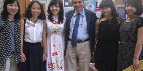 Laurea in lingua italiana per quattro studentesse vietnamite