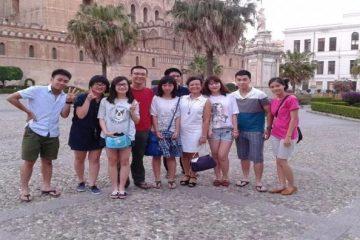 Studenti vietnamiti a Palermo