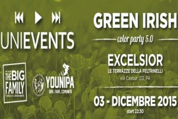 UniEvents - Green Irish