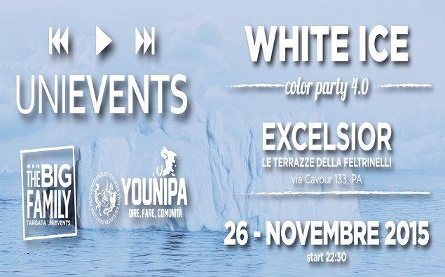 UniEvents - White Ice