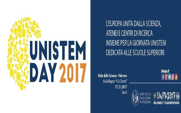 """""""UniStemDay"""" 2017 anche a Unipa"""