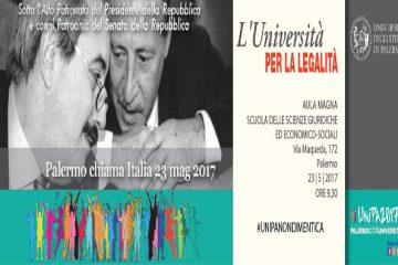"""Unipa partecipa a """"Università per la Legalità"""""""