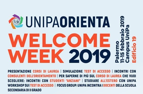 """Welcome Week"" 2019"