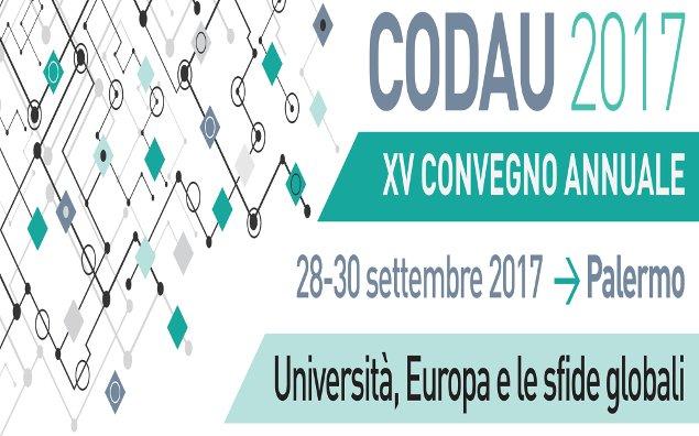 Dal 28 al 30 settembre a Palermo il convegno nazionale del Codau
