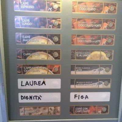 Un distributore a Ingegneria...