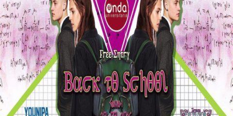 """Oggi """"Back to School"""", la festa di Onda Universitaria"""