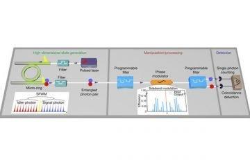 Studio sulla fotonica quantistica di ricercatori Unipa su Nature