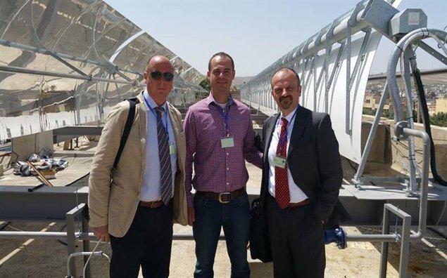 impianto solare in Giordania
