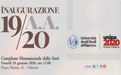 Il 24 gennaio allo Steri si inaugura l'anno accademico