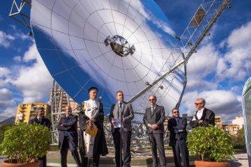 Inaugurato impianto a concentrazione solare Dish Stirling a Unipa