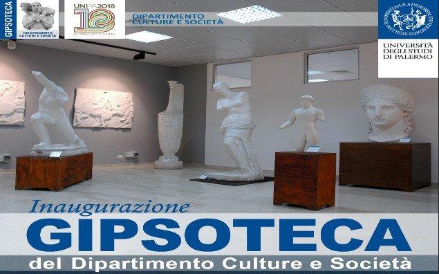 Inagurazione della Gipsoteca del Dipartimento Culture e Società