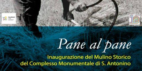 Venerdì 4 maggio l'inaugurazione del Mulino Storico di Sant'Antonino