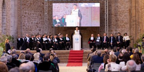 Micari ha inaugurato l'anno accademico del mid-term