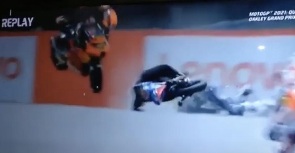 incidente moto3 video