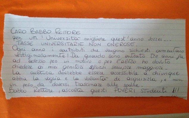 lettera a Micari