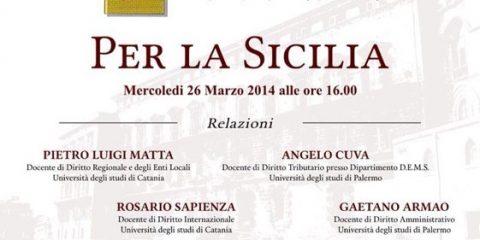 Per la Sicilia
