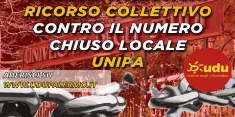 L'UDU Palermo si prepara al ricorso collettivo contro il numero chiuso locale