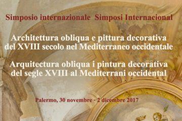 """Allo Steri """"Architettura obliqua e pittura decorativa del XVIII secolo nel Mediterraneo Occidentale"""""""