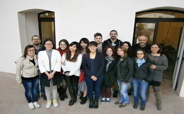 studenti della Sisu al termine del loro periodo di studi a Palermo