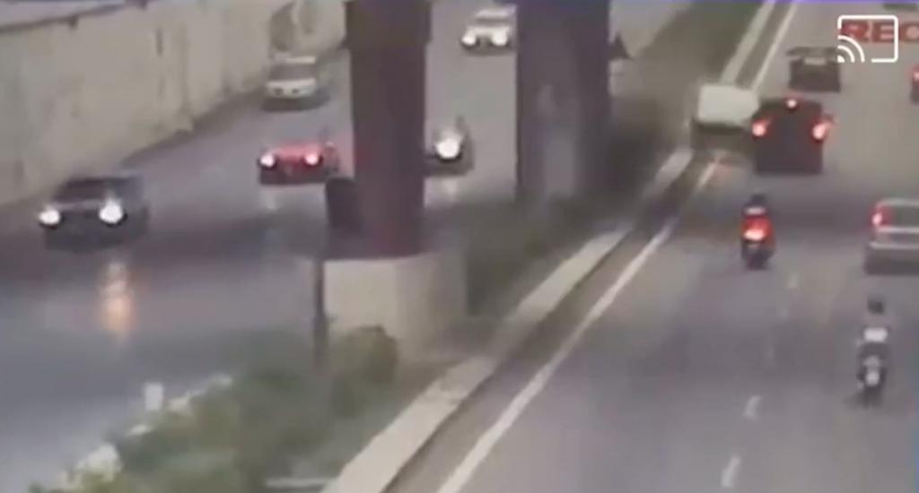 video dell'incidente