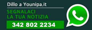 Scrivi a Younipa, contattaci tramite Whatspp al numero +39 342 802 2234